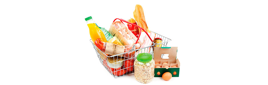 food collection header